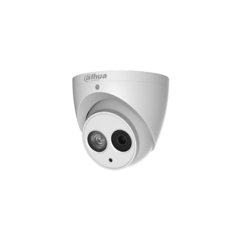 Dahua Eyeball IP Kamera 4MP, 2,8mm Objektiv, H.264-H.265+ Nachtsicht MicroSD Slot IP67 PoE